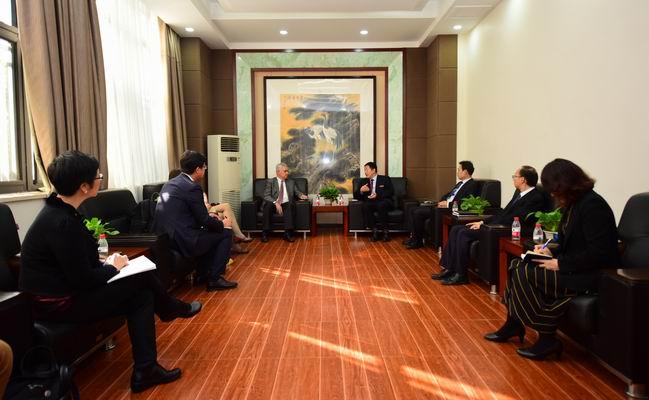 美国肯特州立大学副校长一行访问西安外国语大学 双方将多 ...